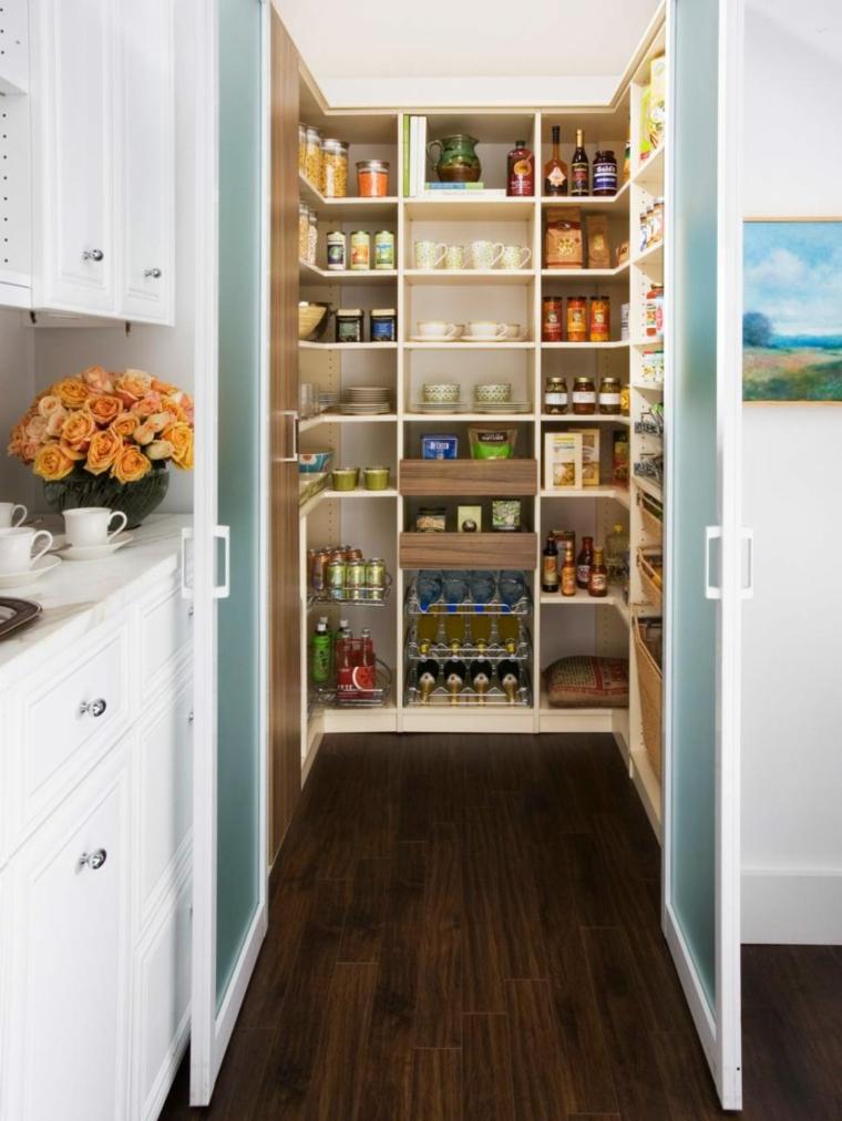 Despensas de cocina para ganar espacio for Smart small kitchen designs