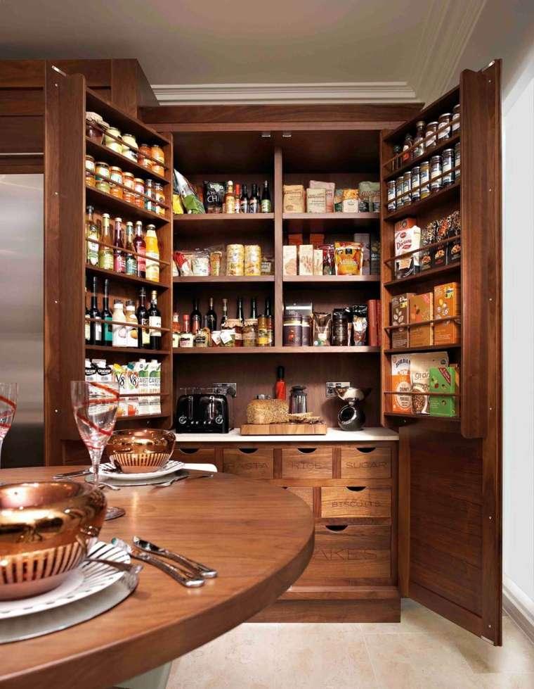 Despensas de cocina para ganar espacio -