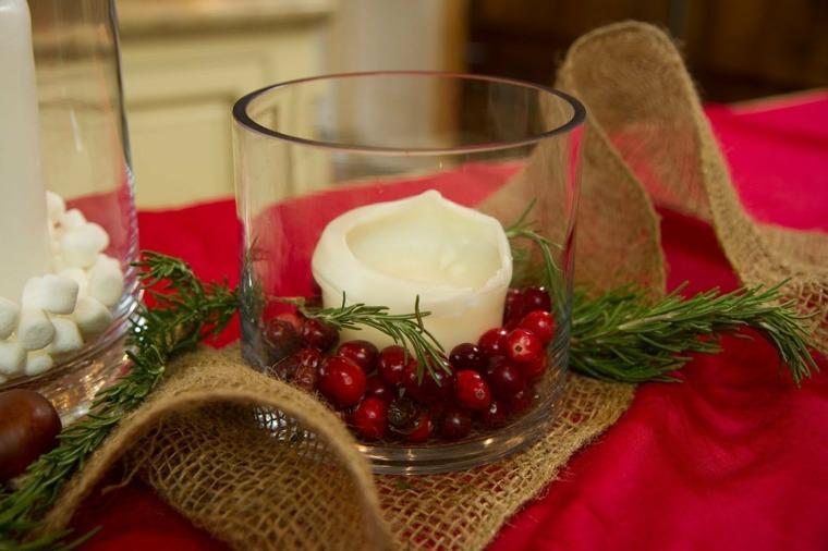 diseos originales de centros de mesa para estas navidades