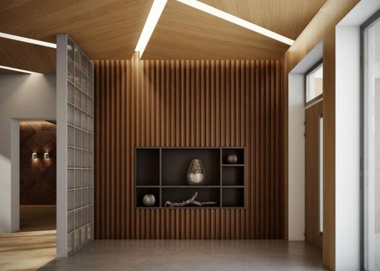 diseño interior lineas modernas fuentes