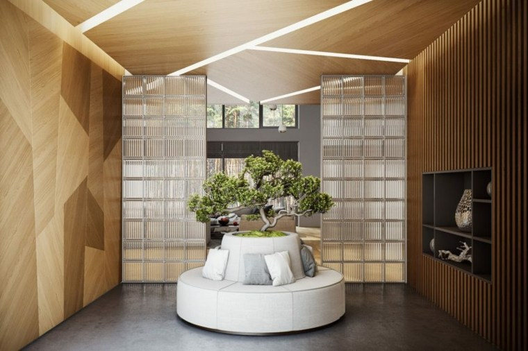 diseño interior madera fresco suelos