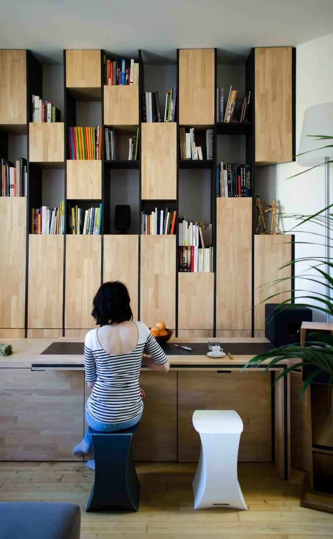 diseños de interiores ideas blanco sillas cocinas