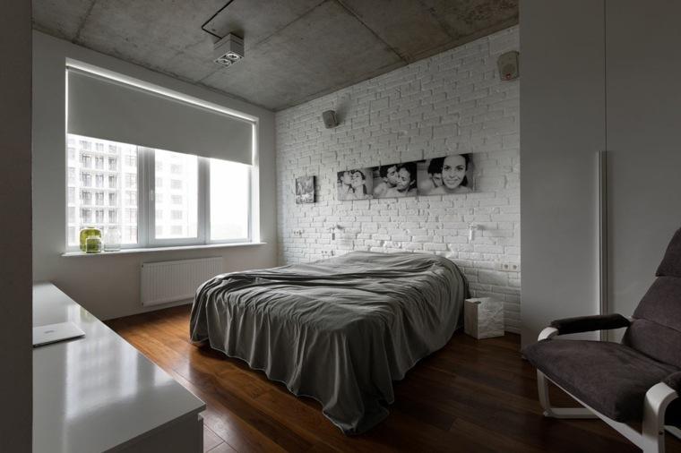 diseno de interiores accentos hormigon dormitorio ideas