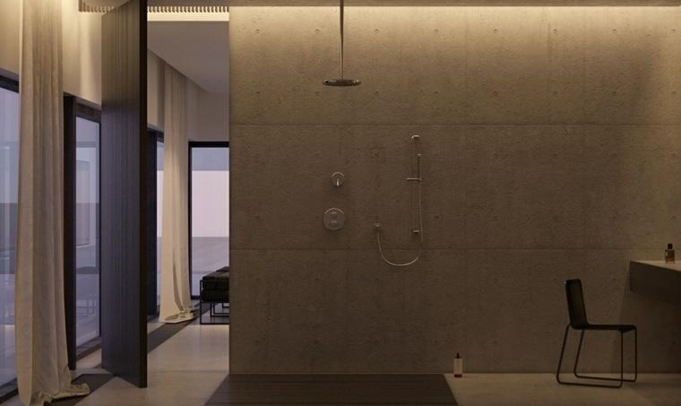 Dise o de interiores al estilo minimalista con toque - Diseno de interiores paredes ...