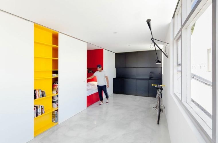 diseño interior funcional puertas corederas