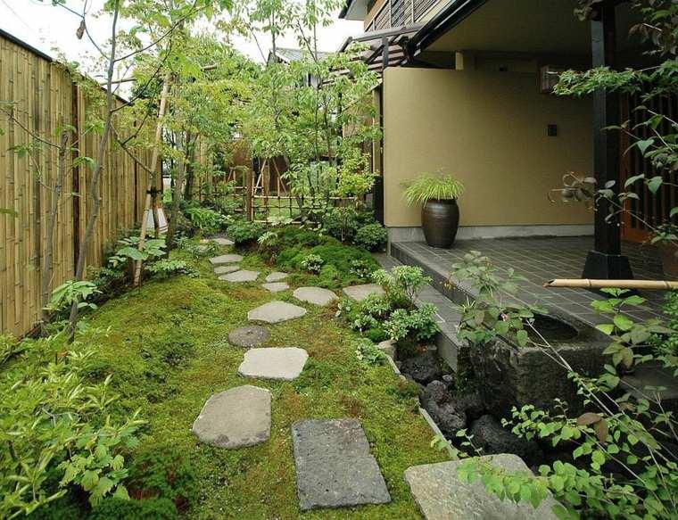 diseno jardin zen camino piedras