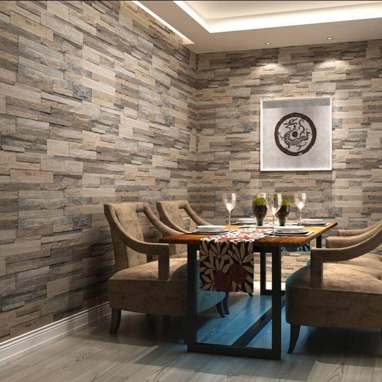 Paredes de madera con relieves y acentos en 3d Revestimiento para paredes dormitorios