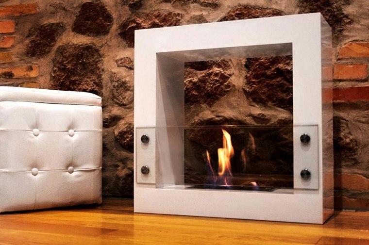 diseño original chimenea gas