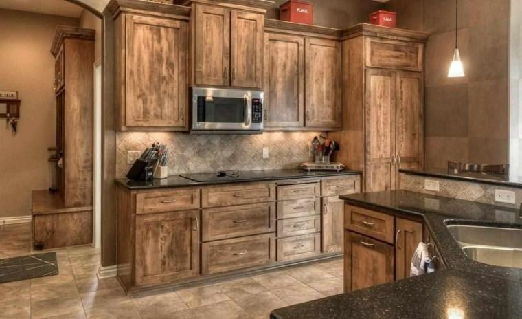 Cocinas r sticas los mejores ejemplos del estilo for Disenos de muebles para cocina en madera
