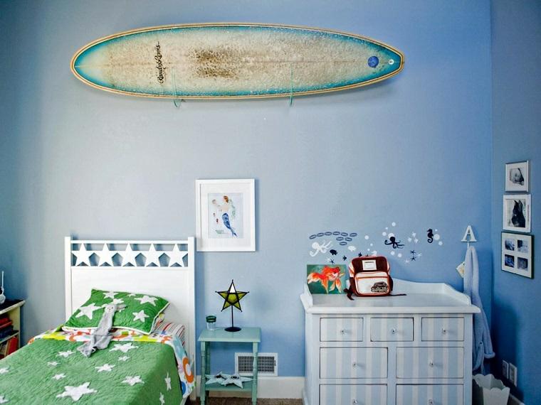 diseño tablas de surf interior