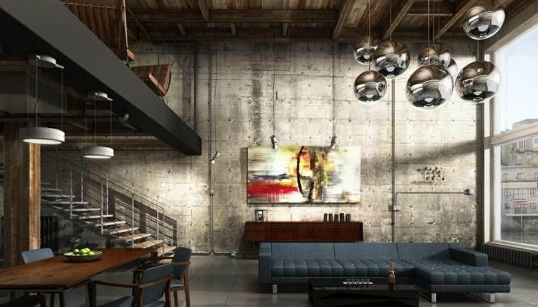 diseño induistrial apartamento loft