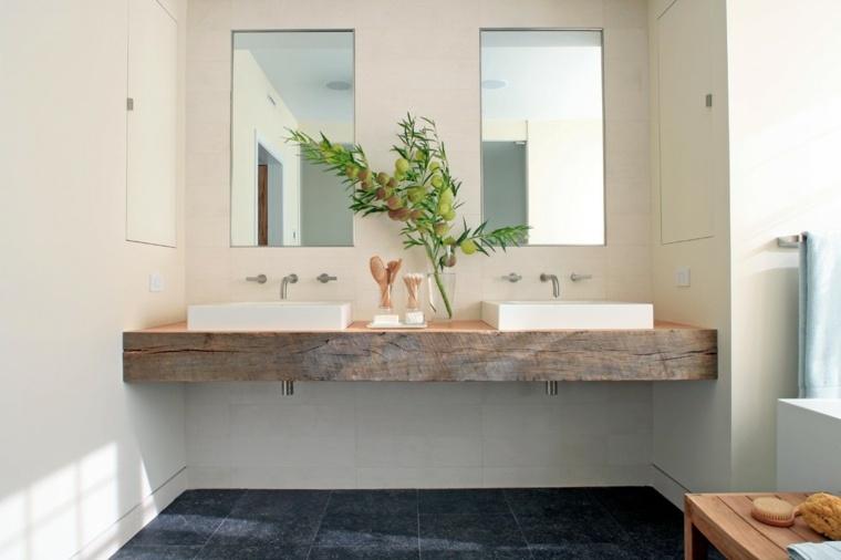 diseno mueble lavabo madera natural