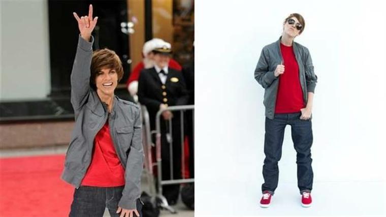 disfraz de Justin Bieber