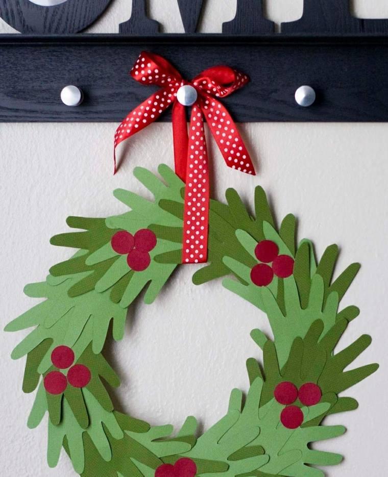 Cosas de navidad 43 ideas de manualidades para decorar - Hacer decoracion navidena ...
