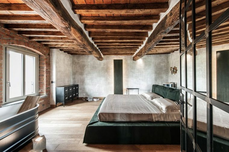 dormitorios rusticos diseno carnet casa ideas