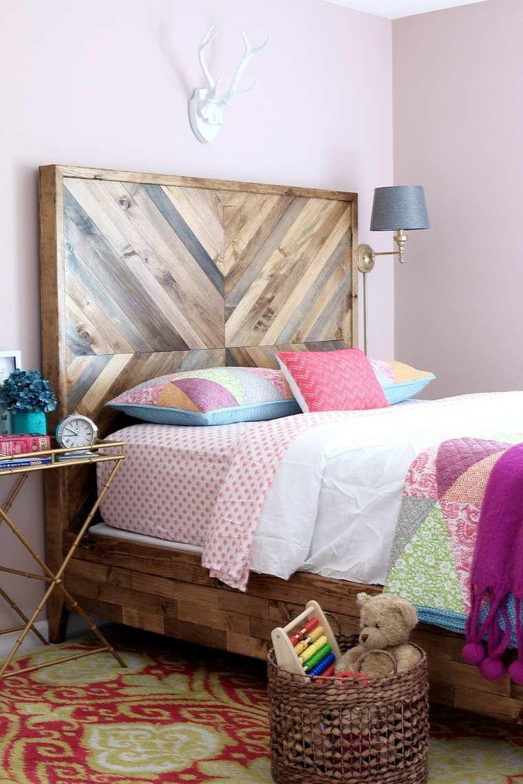 dormitorios rusticos diseno cama original opciones ideas
