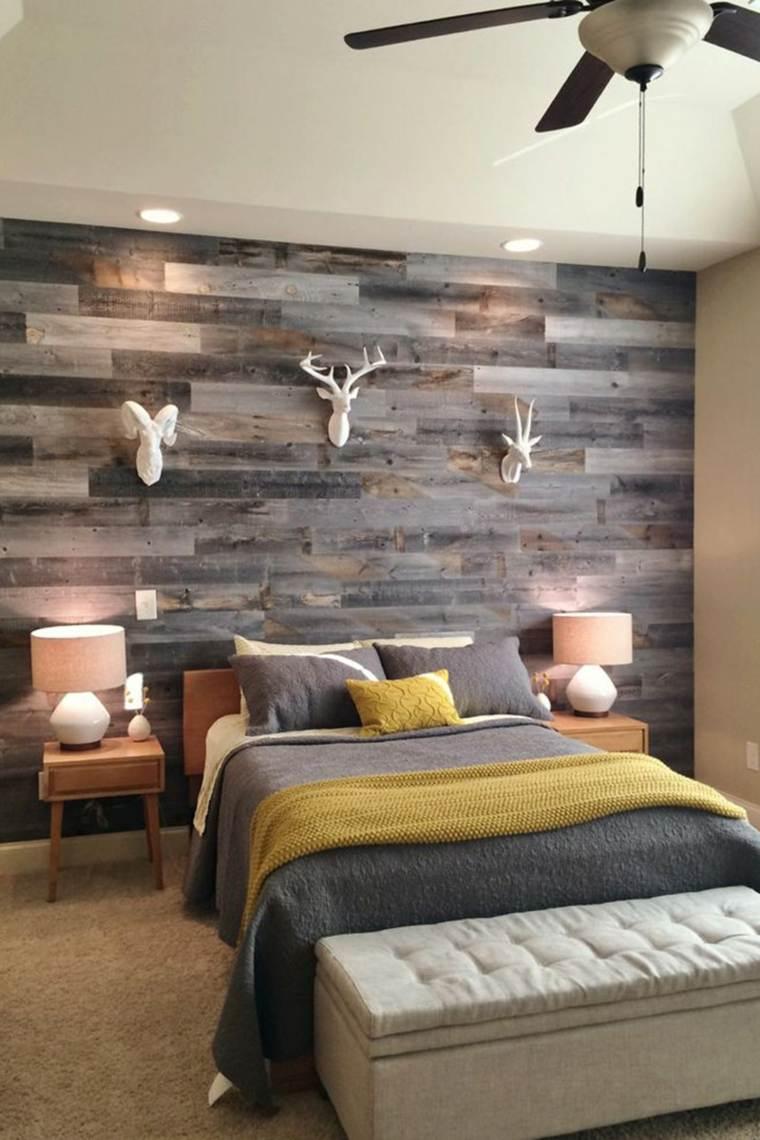 dormitorios rusticos diseno moderno combinacion ideas