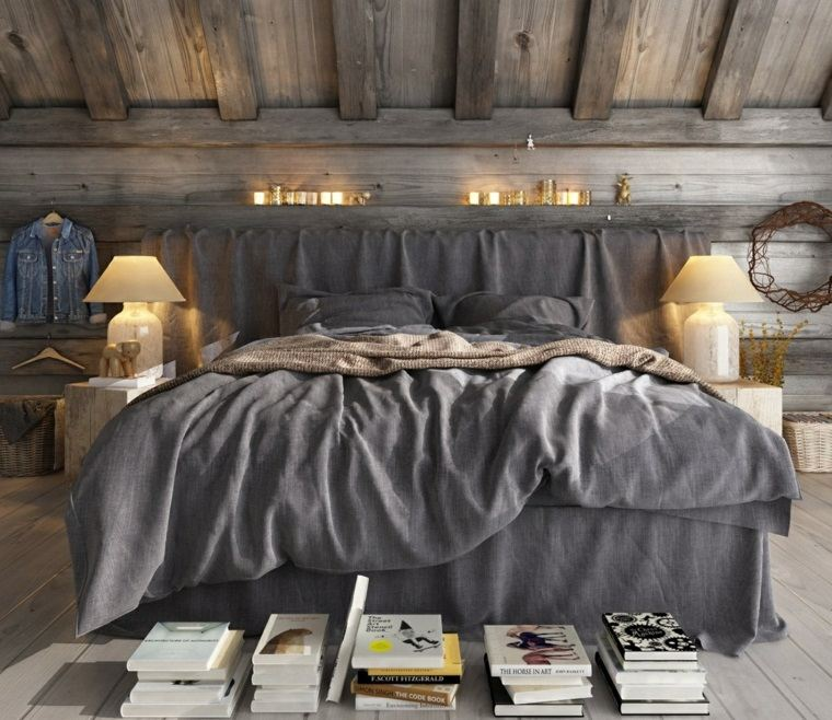 dormitorios rusticos diseno moderno opciones ideas
