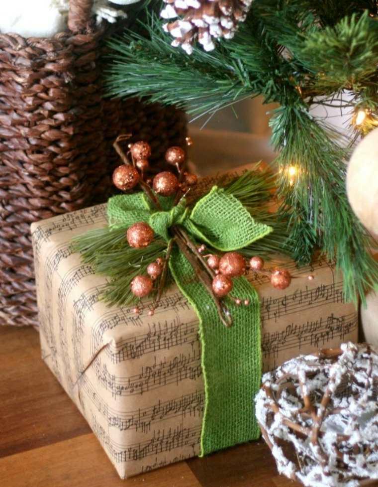 envolver un regalo navidad