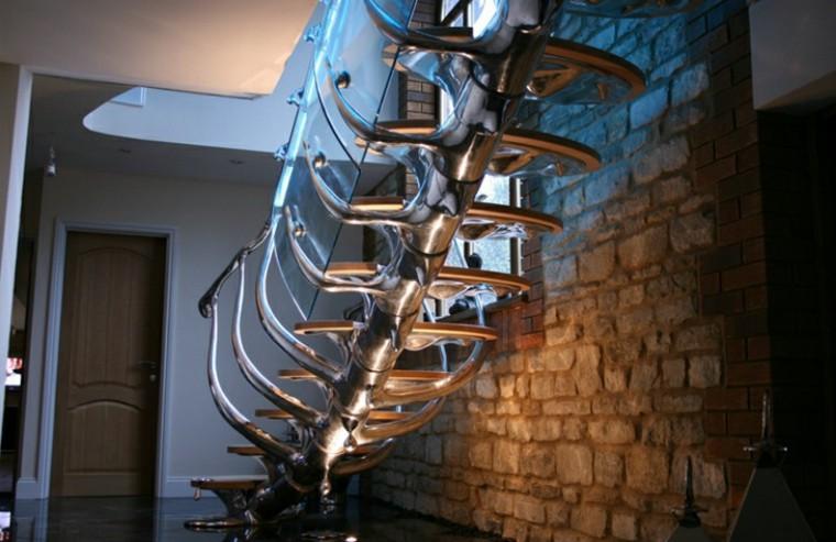 escaleras diseno original columna vertebral ideas
