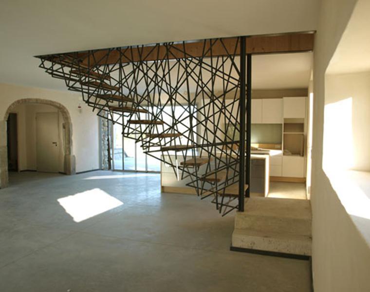 escaleras estilo contemporaneo moderno