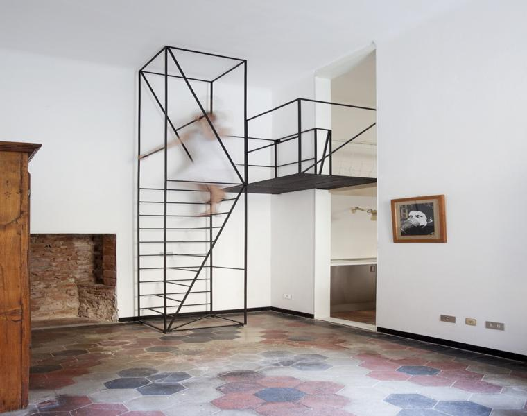 escaleras estilo minimalista sencillas metal