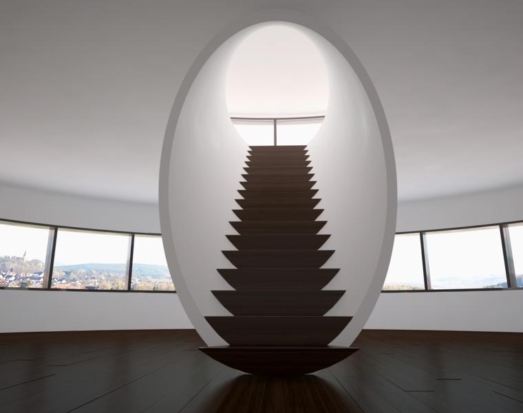 escaleras modernas interior minimalista