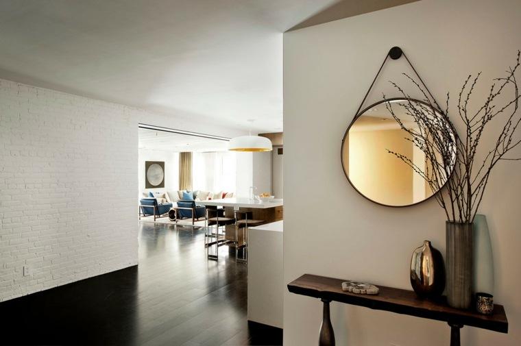 Espejos modernos para el interior de casa for Disenos de espejos