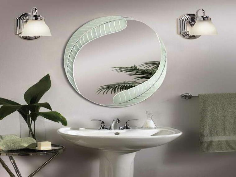 Espejos modernos para el interior de casa for Espejos bano originales