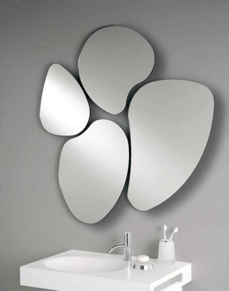 Espejos modernos para el interior de casa - Formas de espejos ...