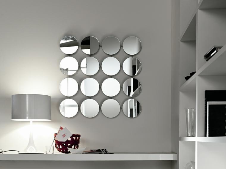 Espejos modernos para el interior de casa for Espejos para la pared