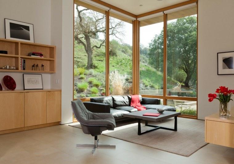 estupendo salon moderno vistas