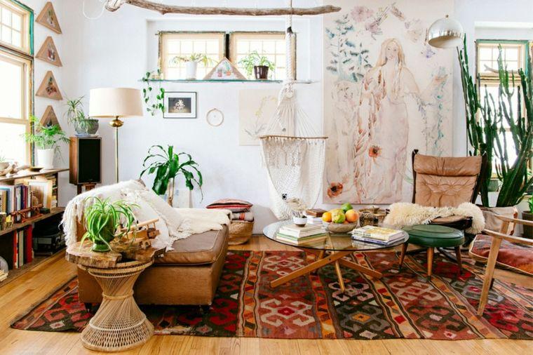 estilo bohemio decoracion interiores plantas detalles ideas