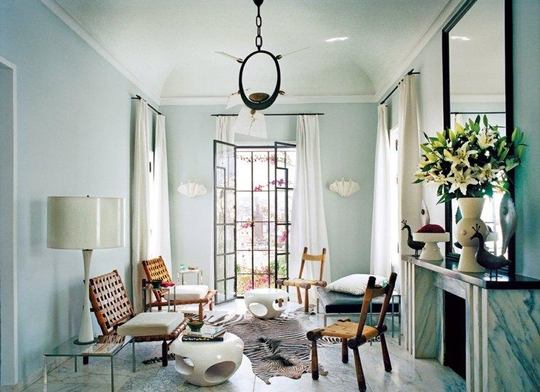 estilo bohemio decoracion interiores sobrio elegante ideas