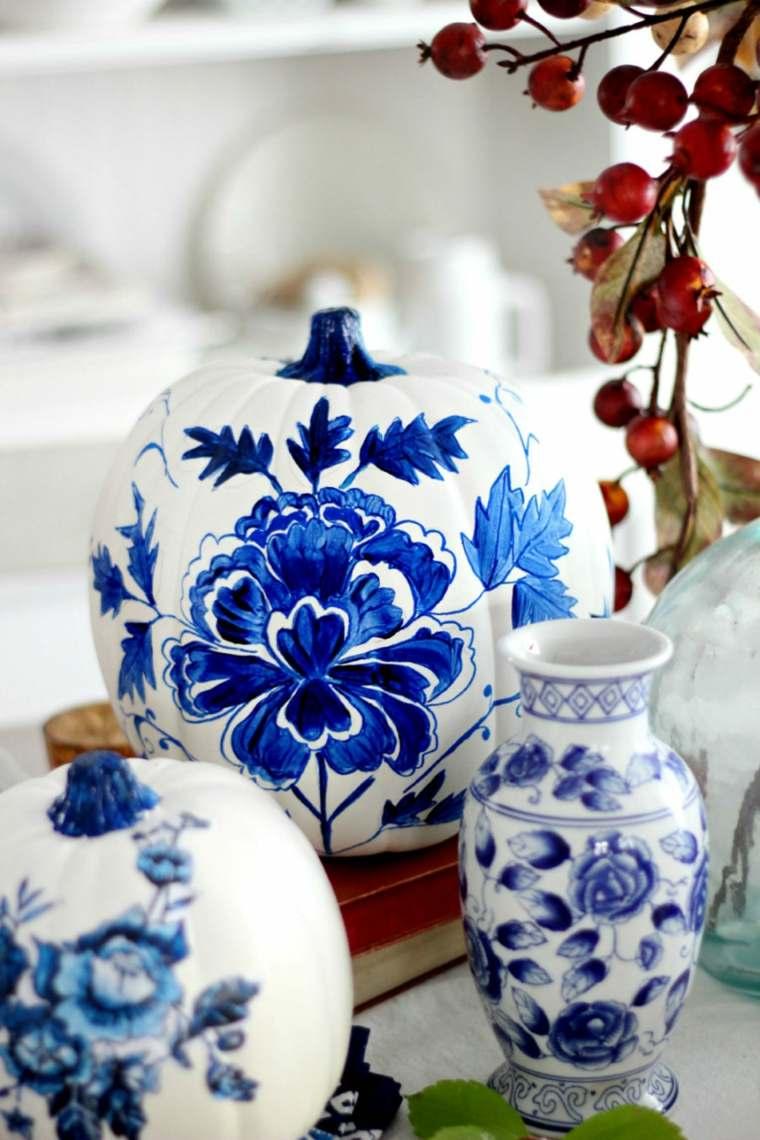 estupenda pintura estilo porcelana