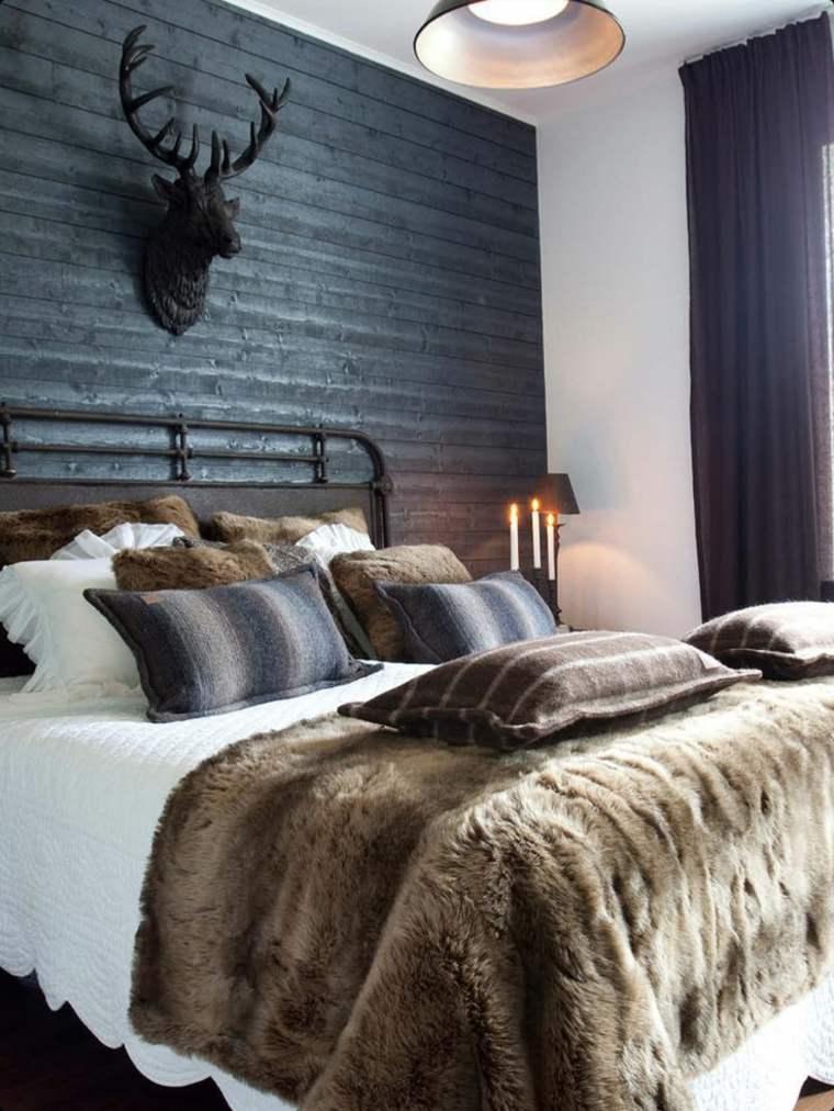 estupenda habitacion decoración invierno