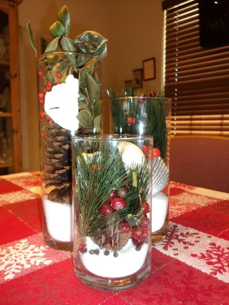 estupenda decoración mesa navidad