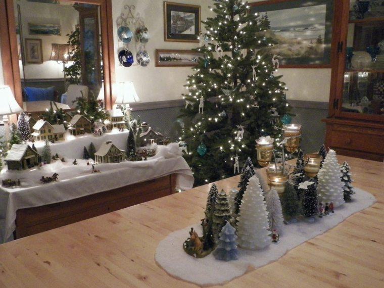 estupenda decoración navidad interior