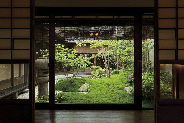 estupendo diseño jardín musgo