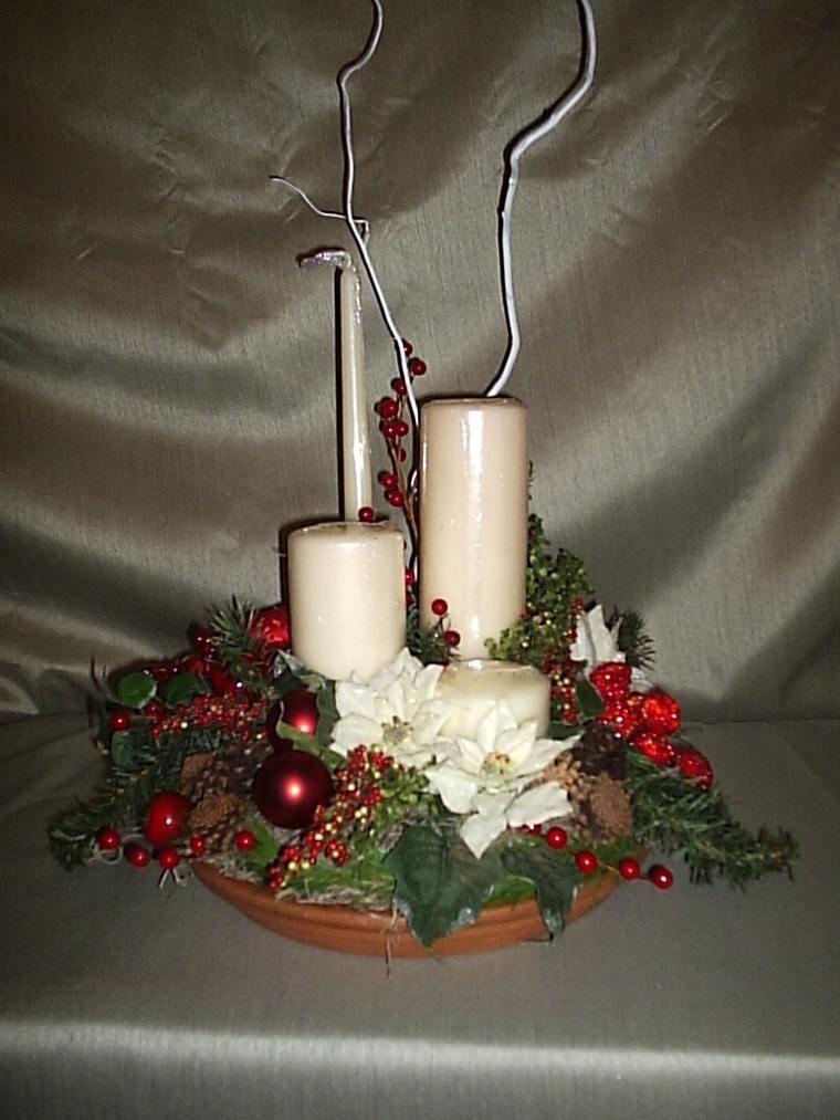 Centros de mesa de navidad las nuevas tendencias - Centro de mesa navideno ...