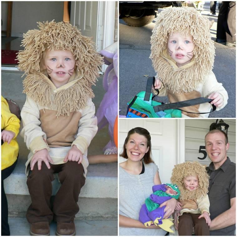 estupendo disfraz de leon
