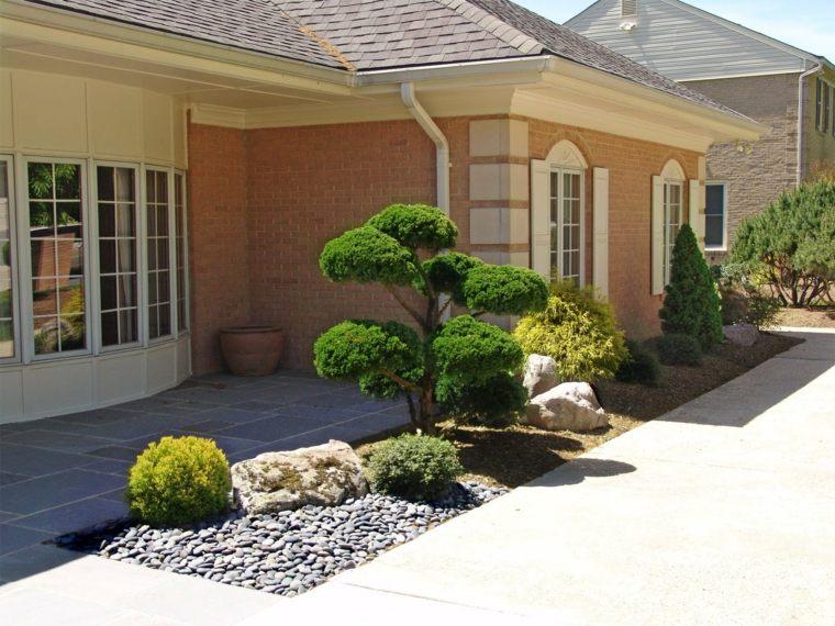 estupendo diseño patio zen