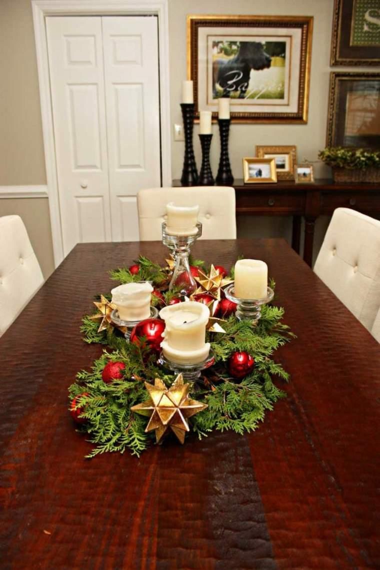 estupenda decoración centro mesa