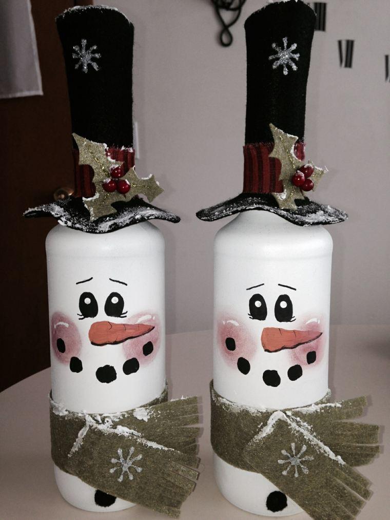 Cosas de navidad 43 ideas de manualidades para decorar - Decorar casa navidad manualidades ...