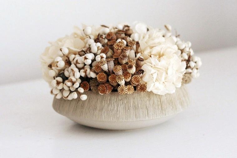flores secas para decorar interior