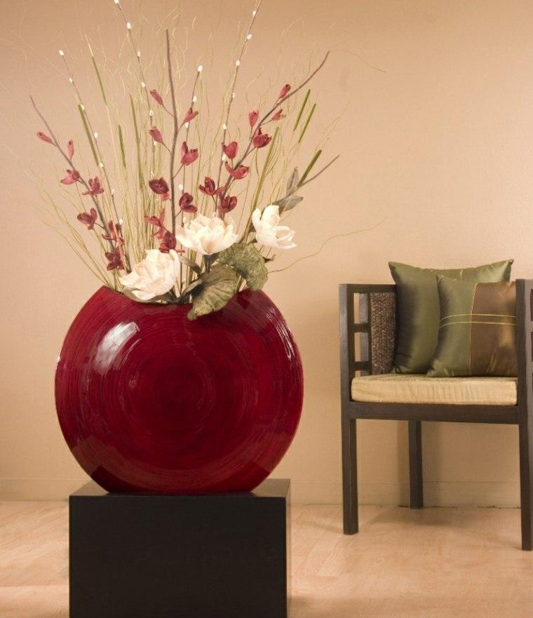 flores secas para decorar modernas