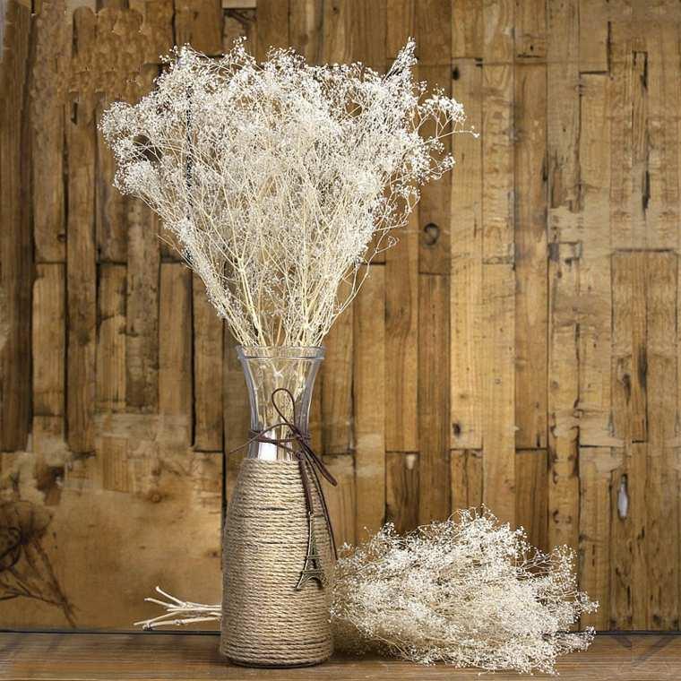 flores secas para decorar salón