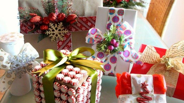 formas de envolver regalos navidad