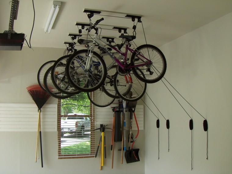 guarda bicicletas interior