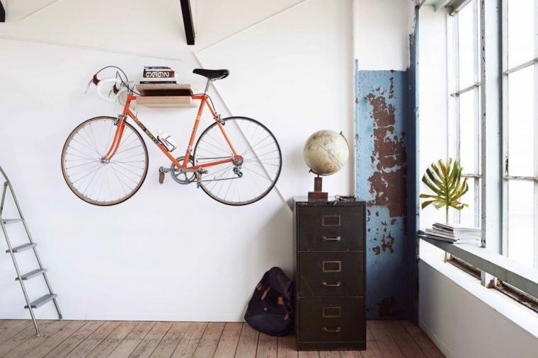guarda bicicletas pisos
